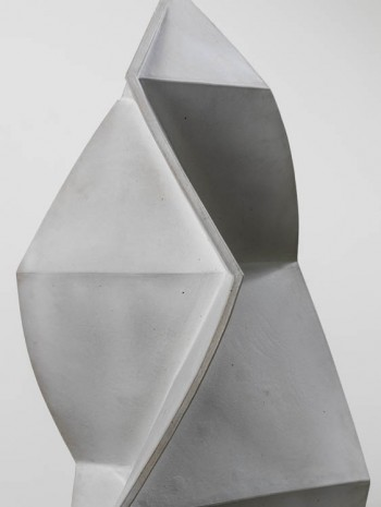 John Mason, Spear Form, Soft White, 1999, David Kordansky Gallery