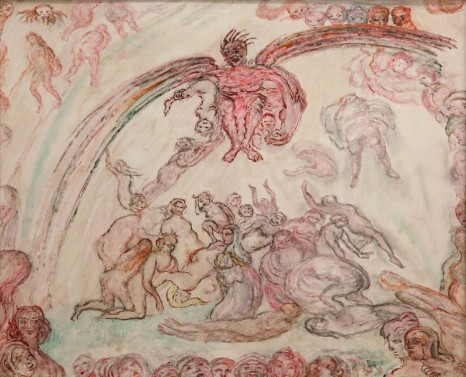 James Ensor, Démon, 1933, Tim Van Laere Gallery