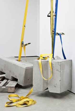 Matias Faldbakken, Untitled (Ladder Pull) (detail), 2013, The Modern Institute