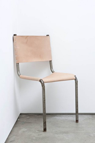 Oscar Tuazon, Corner Chair, 2012, The Modern Institute