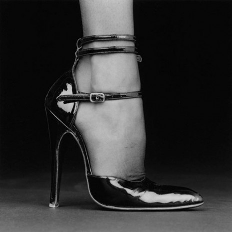 Robert Mapplethorpe, Melody / Shoe, 1987, Alison Jacques Gallery