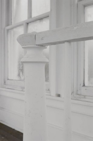 James Welling, Cupola Banister, 2010, Maureen Paley