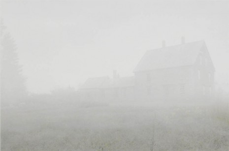James Welling, Olson House in Fog, 2010, Maureen Paley