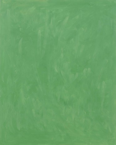 Josh Smith, Light Green, 2013, Luhring Augustine