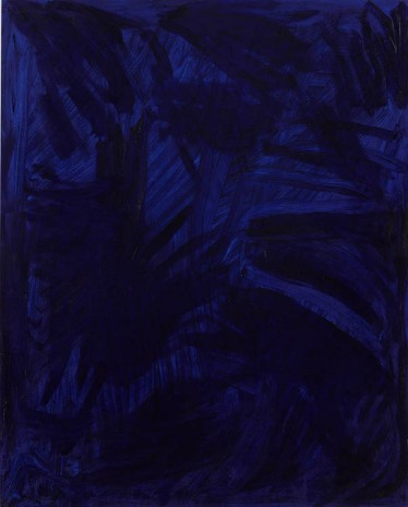 Josh Smith, Purplish Blue, 2013, Luhring Augustine