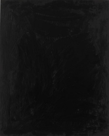 Josh Smith, Black, 2013, Luhring Augustine