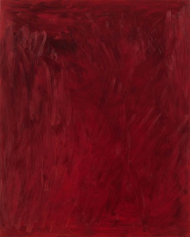 Josh Smith, Red Wine, 2013, Luhring Augustine