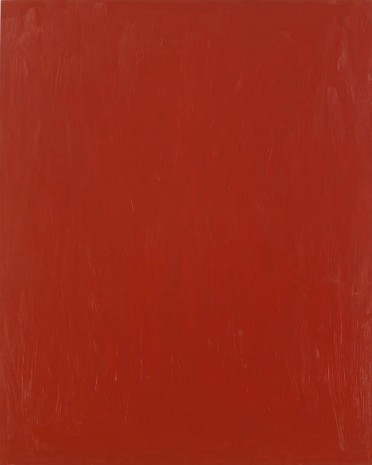 Josh Smith, Muted Red, 2013, Luhring Augustine