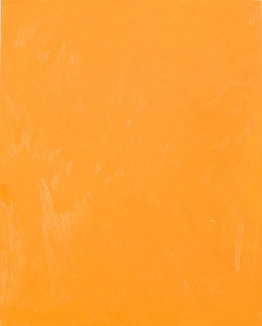 Josh Smith, Orange, 2013, Luhring Augustine