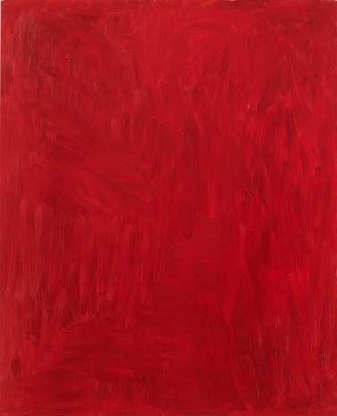 Josh Smith, Red, 2013, Luhring Augustine