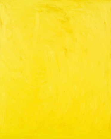 Josh Smith, Bright Yellow, 2013, Luhring Augustine
