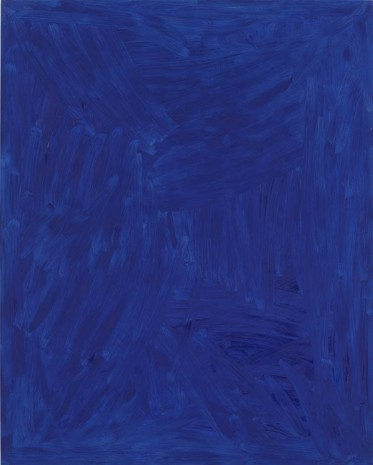 Josh Smith, Blue, 2013, Luhring Augustine