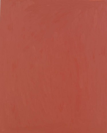 Josh Smith, Bondo Red, 2013, Luhring Augustine