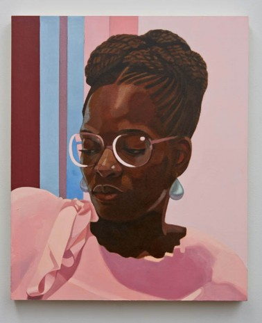 Njideka Akunyili Crosby, Then You Lost Me, 2013, Marianne Boesky Gallery