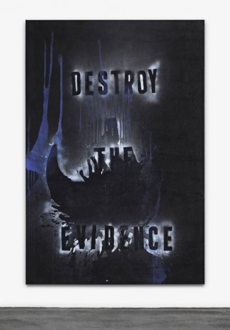 Mike Lood, Destroy The Evidence, 2013, Peres Projects