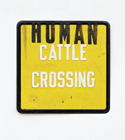 Mike Lood, HUMAN CATTLE CROSSING, 2013, Peres Projects