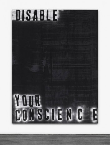 Mike Lood, Disable Your Conscience, 2013, Peres Projects
