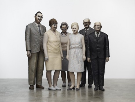 Martin Honert, Group of Teachers, 2012, Matthew Marks Gallery