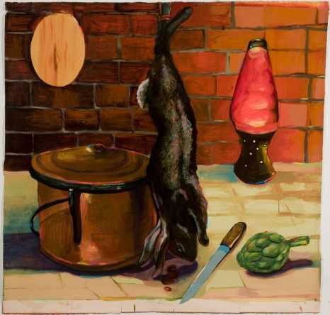 Karen Heagle, Copper Pot, Lava Lamp, 2001, I-20 Gallery (closed)