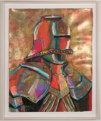 Karen Heagle, Self-portrait in armor, 2011, I-20 Gallery (closed)