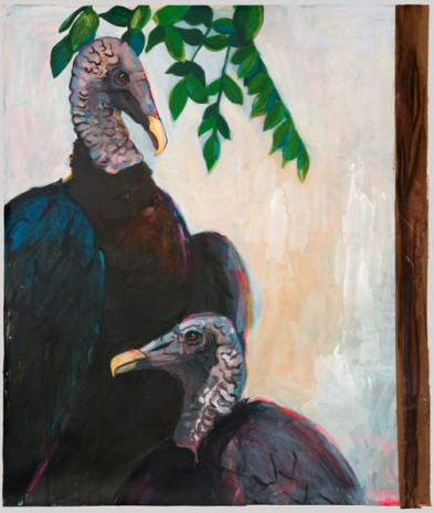 Karen Heagle, Two Vultures, 2011, I-20 Gallery (closed)