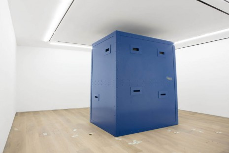 Paola Pivi, Money machine (true blue, baby I love you), 2013, Perrotin