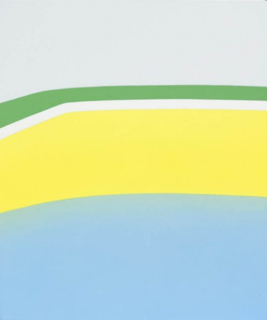 Ridley Howard, Pool with Yellow Wall, 2013, Andréhn-Schiptjenko