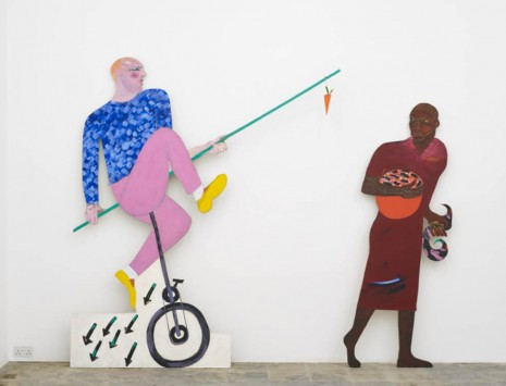 Lubaina Himid, The Carrot Piece, 1985, Hollybush Gardens
