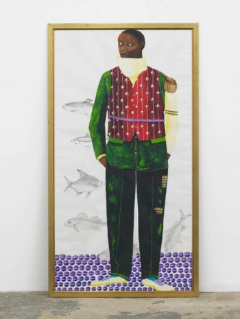 Lubaina Himid, Striker, 2010, Hollybush Gardens