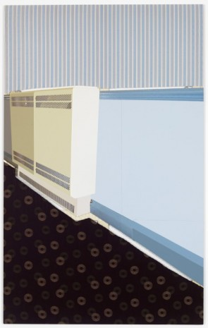 Meredyth Sparks, Extraction (Painted Blue Wall/Radiator), 2011, Elizabeth Dee