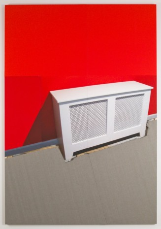 Meredyth Sparks, Extraction (Red Wall/Radiator), 2011, Elizabeth Dee
