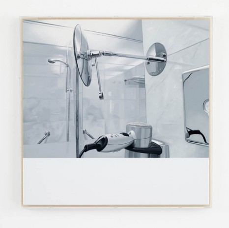 James White, On Reflection #1, 2013, Max Wigram Gallery (closed)