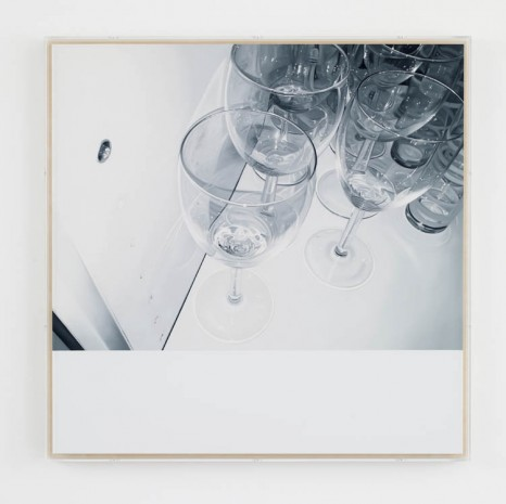 James White, From this Position (Glasses) , 2013, Max Wigram Gallery (closed)