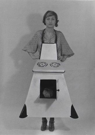 Birgit Jürgenssen, Housewives' Kitchen Apron, 1974-75, Alison Jacques Gallery