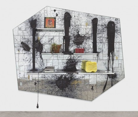 Rashid Johnson, We Wonder, 2013, Hauser & Wirth