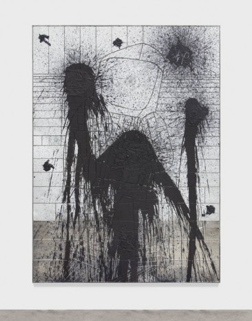 Rashid Johnson, Walking, 2013, Hauser & Wirth