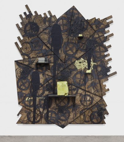 Rashid Johnson, Shut Down, 2013, Hauser & Wirth