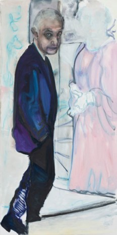Marlene Dumas, The Artist and his Model, 2013, Zeno X Gallery