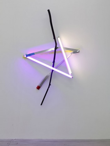 Mark Handforth, Star Light, 2013, Galleria Franco Noero