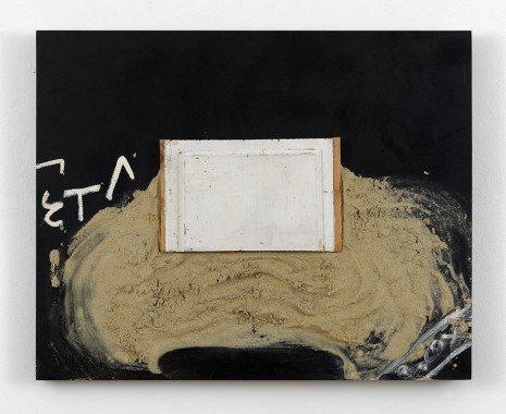 Antoni Tàpies, Collage de la fusta, 2001, Timothy Taylor
