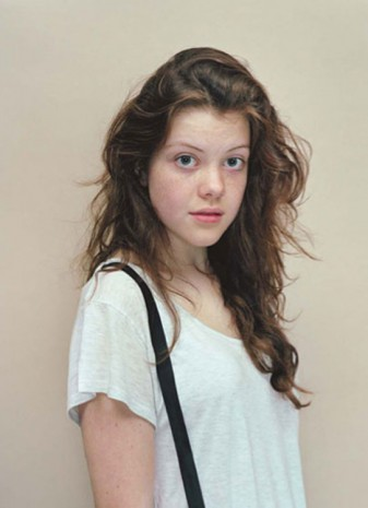 Rineke Dijkstra, Georgie Henley, London, October 9, 2010, 2010, Galerie Max Hetzler