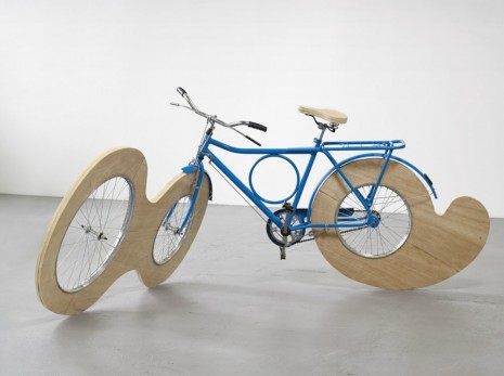 Marepe, bicycle in the third conjugation, 2012, Galerie Max Hetzler