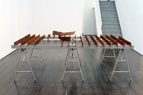 Jeff Williams, Oxidation Table, 2013, Jack Hanley Gallery