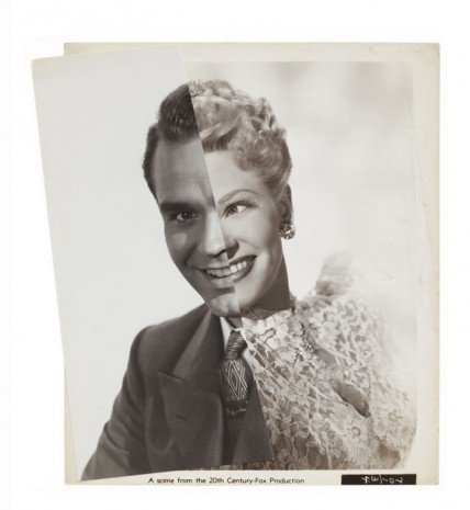 John Stezaker, Wedding (Film Portrait Collage) V, 2013, Mendes Wood DM