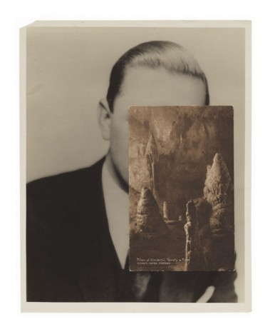John Stezaker, Mask (Film Portrait Collage) CLXI, 2012, Mendes Wood DM
