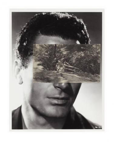 John Stezaker, Mask (Film Portrait Collage) CLXII, 2013, Mendes Wood DM