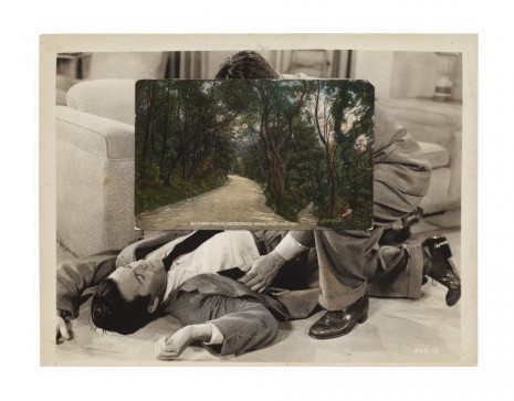 John Stezaker, The Way VI, 2013, Mendes Wood DM
