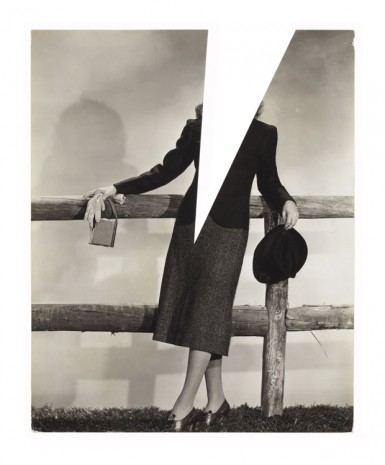 John Stezaker, Untitled (Film Portrait Collage) XXXV, 2010, Mendes Wood DM