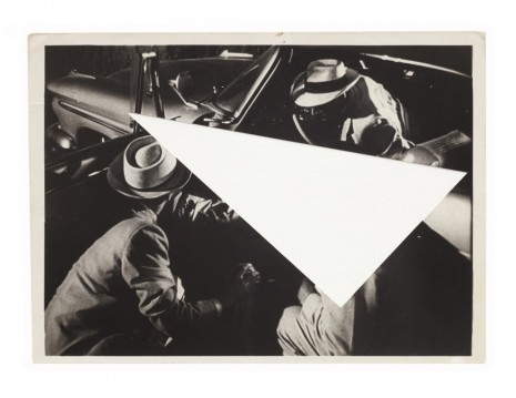 John Stezaker, Arrow, 2010, Mendes Wood DM