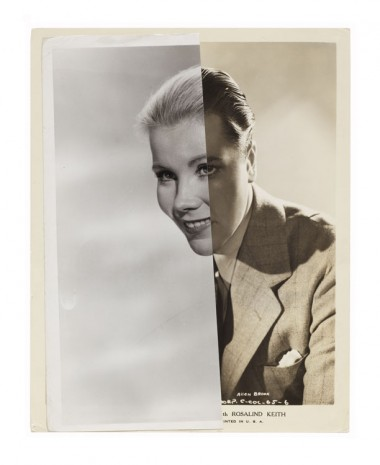John Stezaker, Marriage (Film Portrait Collage) XCIII, 2010, Mendes Wood DM